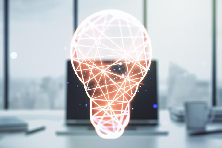 lightbulb laptop webinar thought leadership image